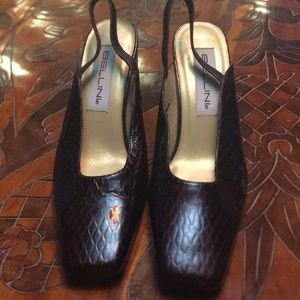 Shoe BELLINI LEATHER HEELS SIZE 8